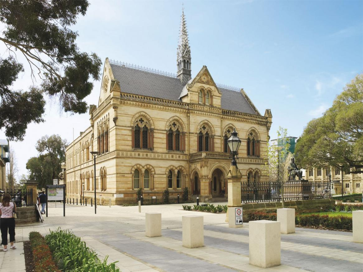 The University of Adelaide's Mitchell building