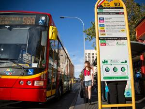 Free City Connector bus service (Grote street)
