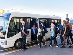 Village Shuttle bus