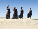 From left: The Australian String Quartet: Sally Boud, Rachel Johnston, Sophie Rowell and Anne Horton Photo by Jacqui Way