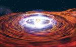 An artist's impression of an exploding neutron star Image by NASA/Dana Berry
