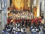 The Good Friday concert at St Peter's Cathedral attracted more than 1000 people