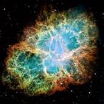 Supernovas, such as the one which created the Crab Nebula, are believed to send out bursts of gravity waves
