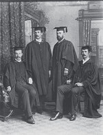 The first graduates of the University of Adelaide's Medical School in 1889