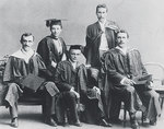 Laura Fowler (2nd from left) was the first woman to graduate from the Medical School (in 1891) and was Australia's first female surgeon