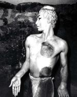 David Lichine as the Faun in Ballets Russes' <i>L'Après-midi d'un faune</i> in 1940 Photo by Max Dupain, courtesy of the National Library of Australia
