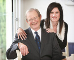 The Chancellor, the Hon. John von Doussa AO QC, with his wife, Julie Photo by Calum Robertson, courtesy of <i>The Advertiser</i>
