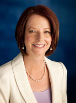 Prime Minister the Hon. Julia Gillard Photo courtesy of the Australian Labor Party