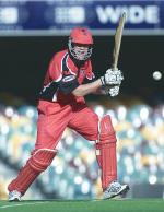 Nathan in action for South Australia in a ING Cup match Photo courtesy of The Advertiser