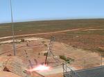 The scramjet blasts off at Woomera Test Range