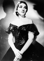Greek soprano Maria Callas, who will be the subject of a tribute concert at Elder Hall this month