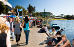 A busy day for Adelaide's Riverbank Precinct Photo courtesy of South Australian Tourism Commission