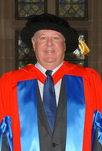 Ross Adler AC was awarded the degree of Doctor of the University for his distinguished service Photo by GFP Studios