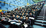 More than 150 students from 12 countries graduated from the University of Adelaide at the Ngee Ann Polytechnic Convention Centre in Singapore