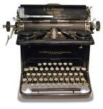 Typewriter, awaiting further research.  University of Adelaide Historical Collection.