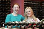 Wine marketers Jennifer Lynch (left) and Monique Katchor Photo by Ben Osborne