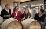 Winemakers (from left) Kathy Cooney, Angelina Mondavi, Irit Boxer-Shank and Kate Payne Photos by Ben Osborne