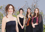 The current members of the Australian String Quartet (from left): Sophie Rowell, Anne Horton, Sally Boud and Rachel Johnston Photo by Jacqui Way Photography