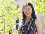 Business PhD student Chelsea Liu Photo by David Ellis