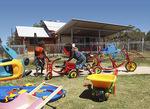 Pukatja Aboriginal Children's Centre on the APY Lands.