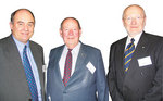 From left: Fund Patron John Crosby, the Hon. Dr Bruce Eastick AM and Vice-Chancellor Professor James McWha Photo by Joy Prior