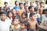 Children in a village in Cambodia Photo by Brenton Millard