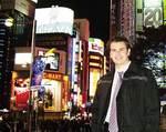 Raymond Radice in Tokyo, where he spent three weeks on a CPA Australia internship Photo by Vanessa Lee