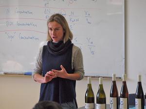 Anna Hooper from Café Jaffa Wine