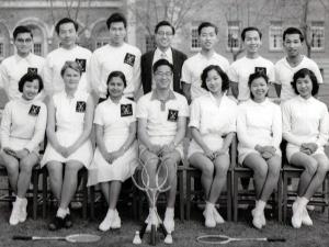 1957 Badminton Team