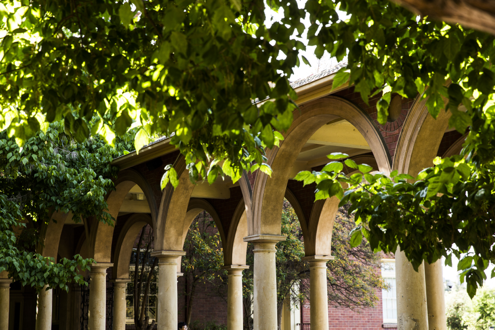 Cloisters at the University of Adelaide