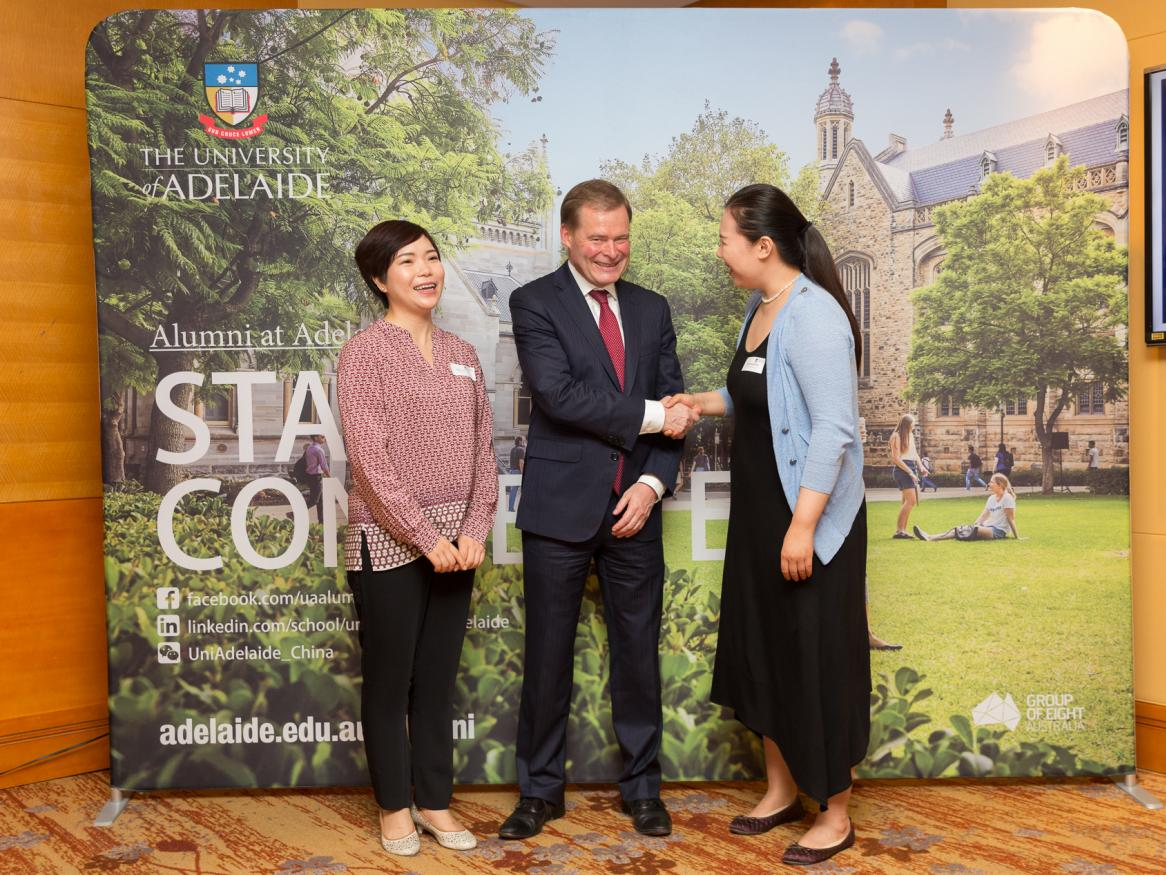 Vice-Chancellor and President of the University of Adelaide Peter Rathjen at Shanghai Alumni event 2018