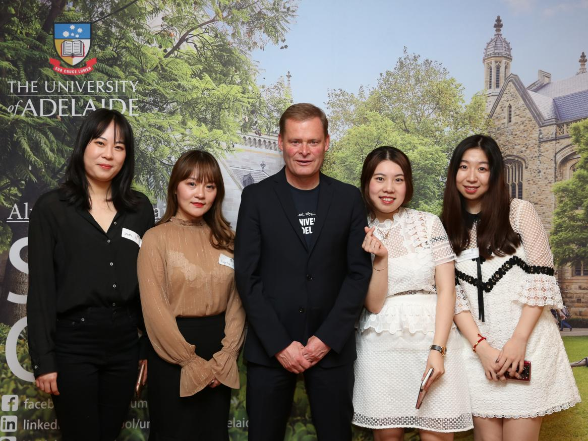 Vice-Chancellor and President of the University of Adelaide Peter Rathjen at Shanghai Alumni event 2019