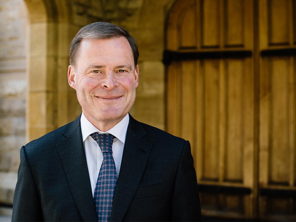 Vice-Chancellor and President of the University of Adelaide Peter Rathjen AO