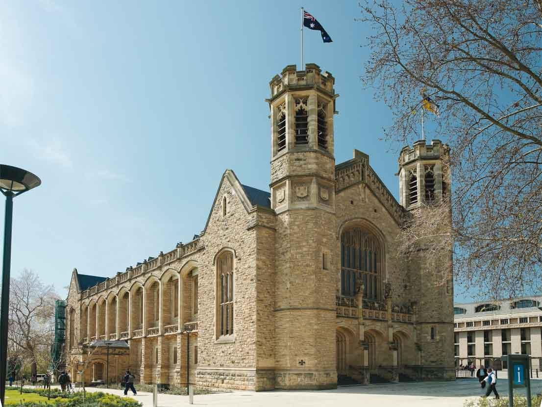 Bonython Hall, North Terrace