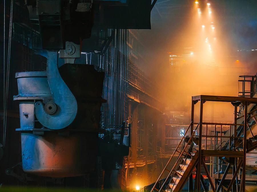 Steel production