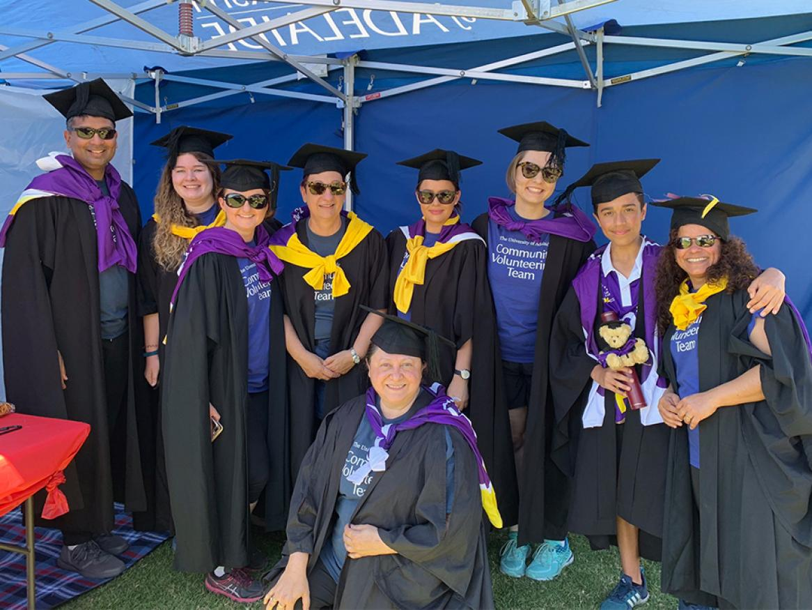 2019 Relay for Life Degreelays team