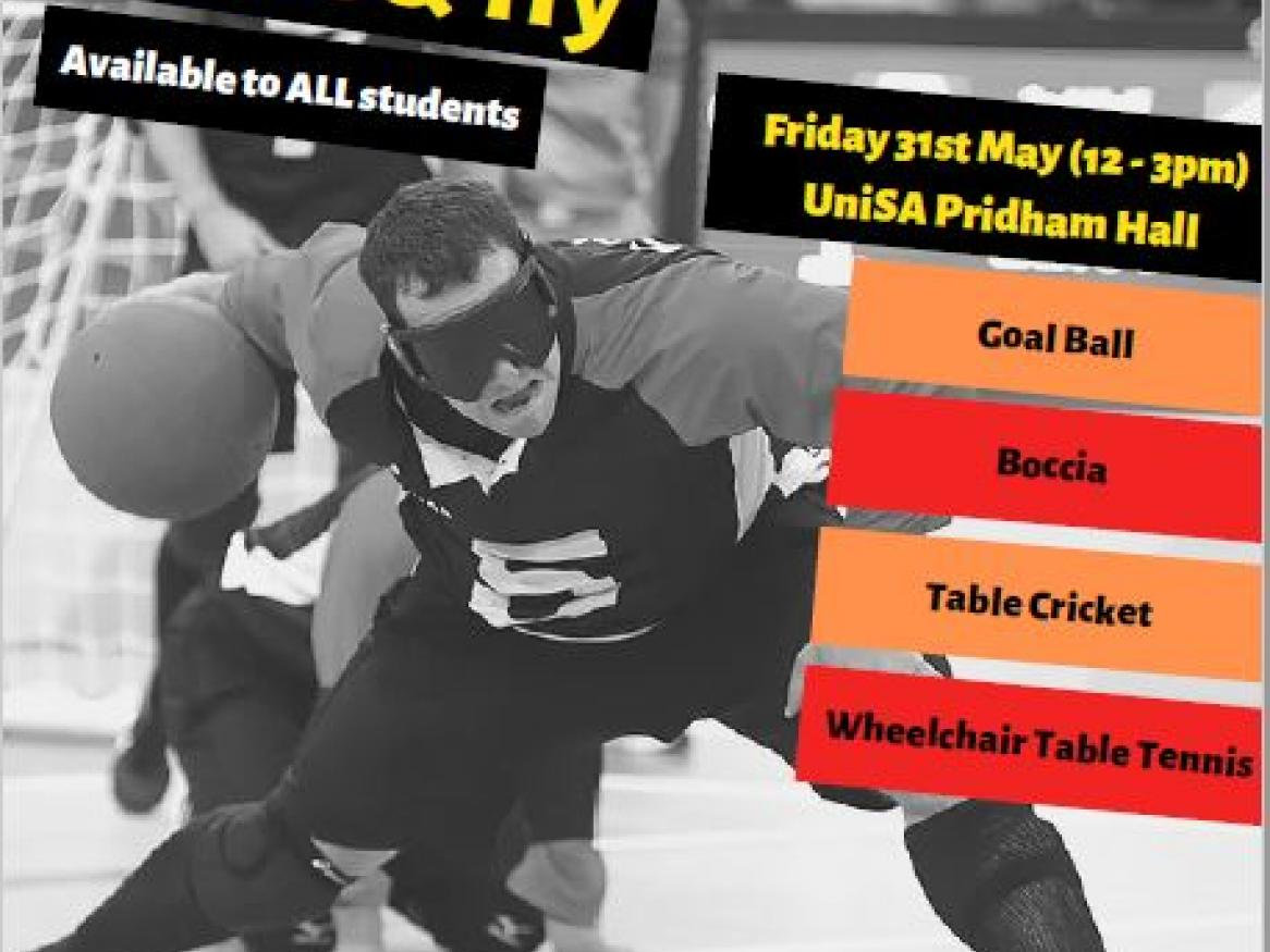 UniSport - Inclusive Sports Come & Try Event 2019