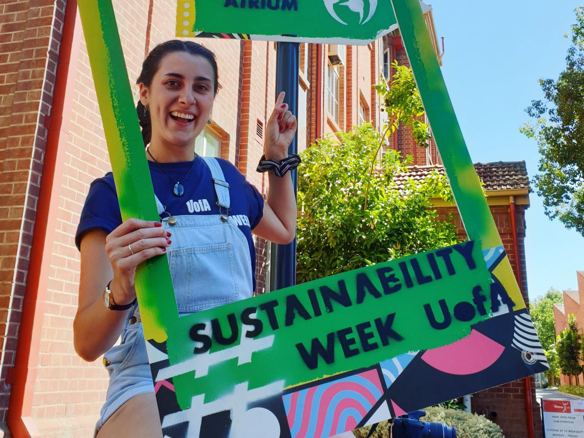 Mary at Sustainability Week 2019