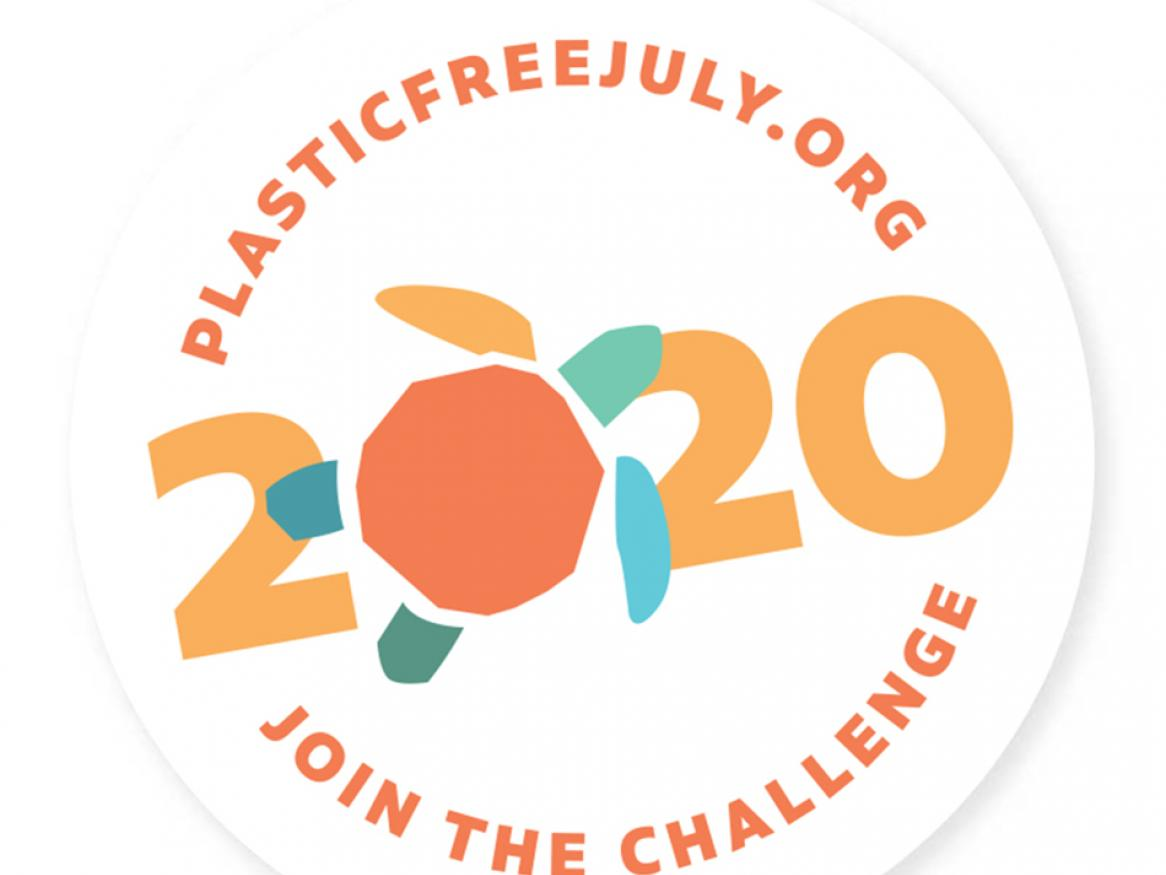 Plastic Free July campaign logo
