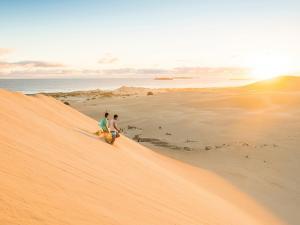 Gunyah Beach sand dunes, Coffin Bay