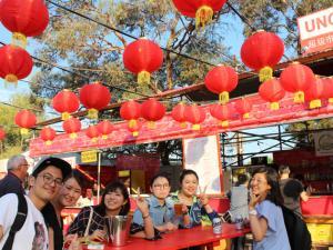 ELC students at lantern festival