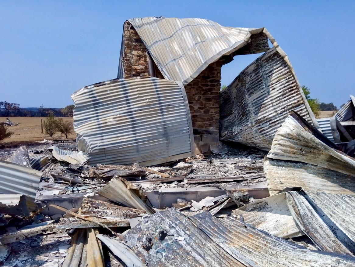Kangaroo Island building loss