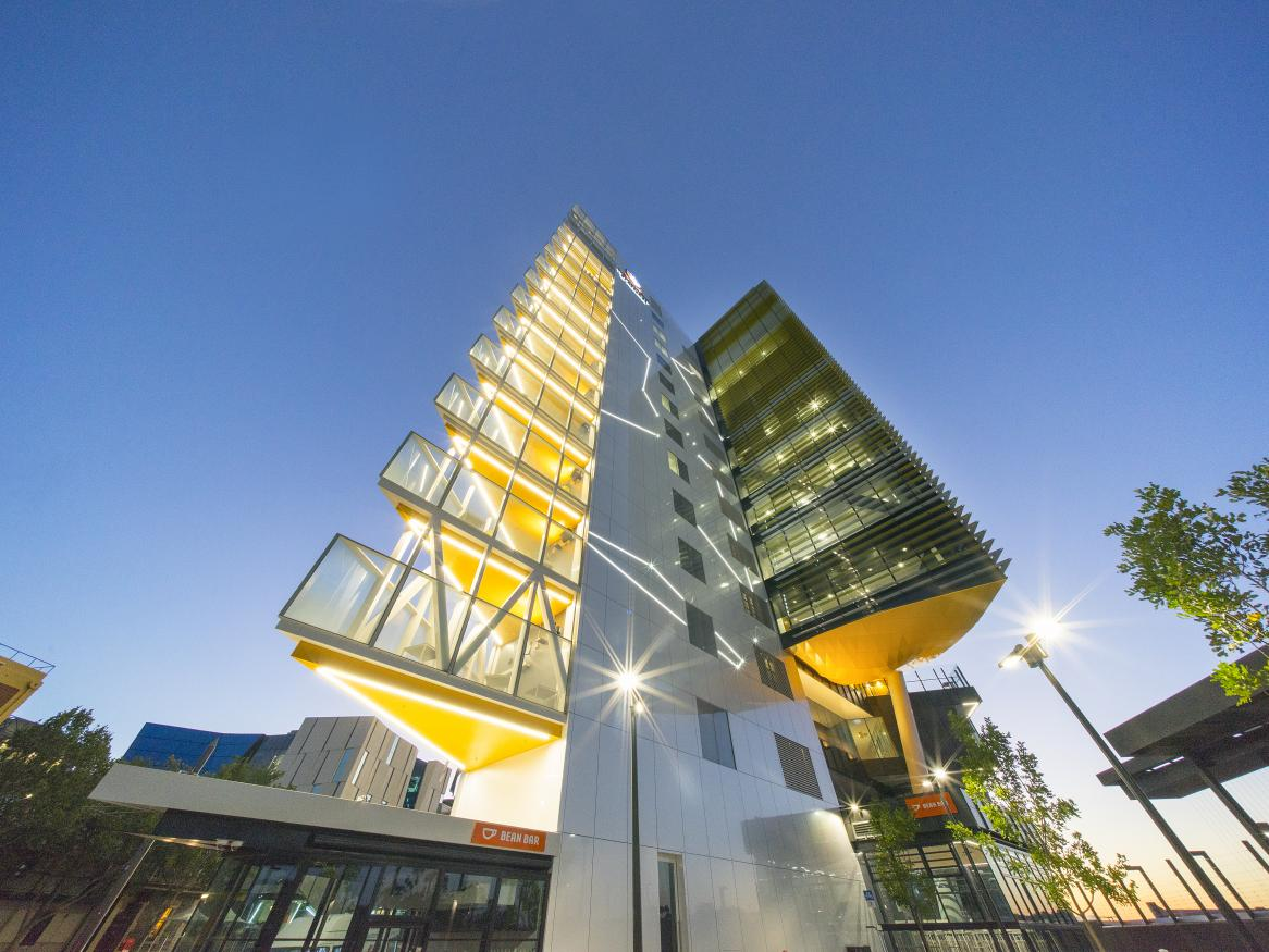 AHMS building on North Terrace Adelaide