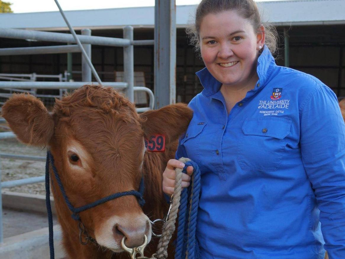Farrah Preston donor scholarship agriculture student