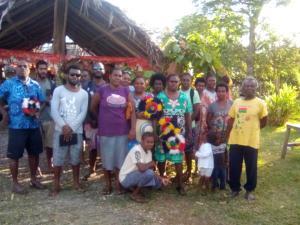 The cocoa growers in Vanuatu