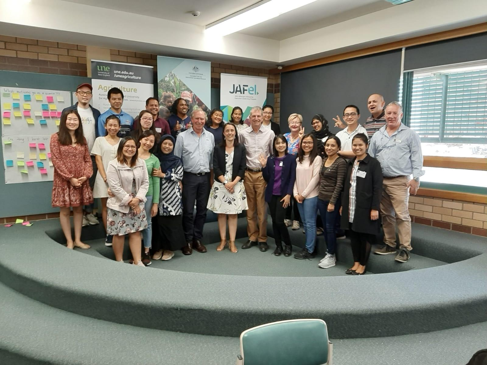 JAFel participants at the University of New England