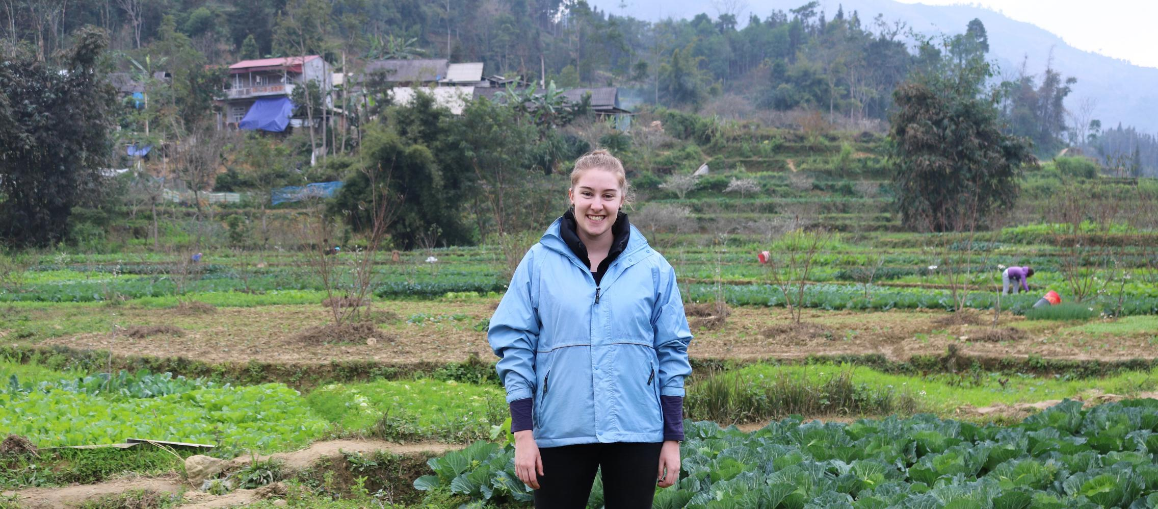 Nikki in Bac Ha Vietnam