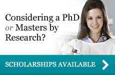 Considering a PhD or masters by Research?
