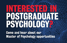 Interested in Postgraduate Psychology?
