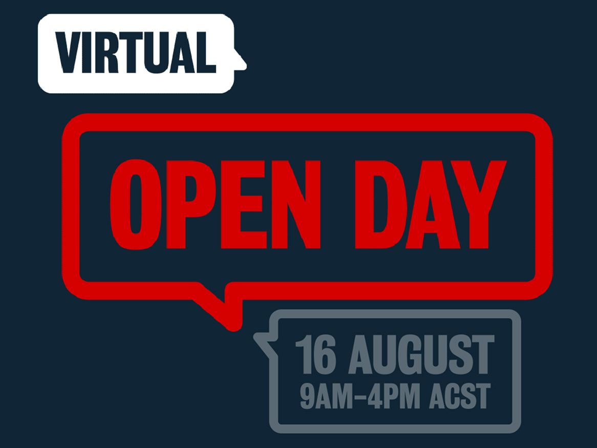 Find out more - Virtual Open Day 2020